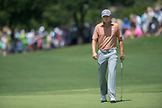 Jordan Spieth walks onto the green during the final round of the AT&T Byron Nelson in Las Colinas, Texas on May 31, 2015. (Cooper Neill for The New York Times)