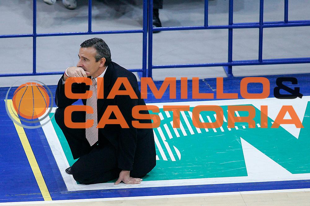 DESCRIZIONE : Bologna Lega A1 2005-06 Climamio Fortitudo Bologna Armani Jeans Milano <br /> GIOCATORE : Lardo <br /> SQUADRA : Armani Jeans Milano <br /> EVENTO : Campionato Lega A1 2005-2006 <br /> GARA : Climamio Fortitudo Bologna Armani Jeans Milano <br /> DATA : 20/11/2005 <br /> CATEGORIA : Delusione <br /> SPORT : Pallacanestro <br /> AUTORE : Agenzia Ciamillo-Castoria/G.Ciamillo