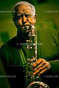 Ernie Butler plays the sax.