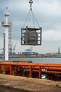 Loading of propane tank