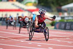 MCFADDEN Tatyana, USA, 200m, T54, 2013 IPC Athletics World Championships, Lyon, France