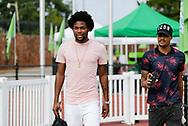 August 3, 2019: OKC Energy FC plays the Tulsa Roughnecks FC in a USL match at Taft Stadium in Oklahoma City, Oklahoma.
