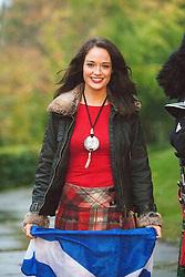 Miss Scotland Jennifer Reochs at Crieff Hydro..MISS WORLD 2011 VISITS SCOTLAND..Pic © Michael Schofield.