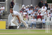 N Wagner for Essex during the Specsavers County Champ Div 1 match between Lancashire County Cricket Club and Essex County Cricket Club at the Emirates, Old Trafford, Manchester, United Kingdom on 9 June 2018. Picture by George Franks.