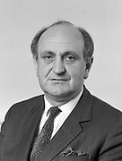 Gerry Collins TD, Minister for Foreign Affairs 1982 and 1989 - 1992.