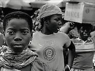 Carrier girls in Togo