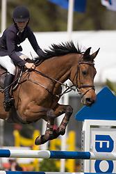 Thijssen Sanne, (NED), Ulena <br /> Nederlands Kampioenschap Springen - Mierlo 2015<br />  © Hippo Foto - Dirk Caremans<br /> 24/04/15