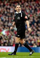 Photo: Ed Godden/Sportsbeat Images.<br /> Arsenal v Wigan Athletic. The Barclays Premiership. 11/02/2007. Referee Mr P. Dowd.
