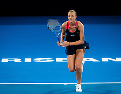 January 5, 2019 - Brisbane, AUSTRALIA - Karolina Pliskova of the Czech Republic in action during the semi-final of the 2019 Brisbane International WTA Premier tennis tournament (Credit Image: © AFP7 via ZUMA Wire)