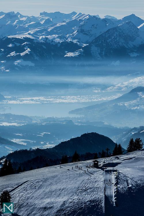 Winter Sports, Rigi, Switzerland