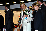 Euroskills 2008 Rotterdam - EuroSkills, a new European profession event, where young people in an addressing manner live their (future) profession and training.<br /> <br /> On the Photo: <br />  Princess Maxima and Jan Figel - European Commissioner responsible for Education, Training, Culture and Multilingualism looking/getting explanation of the Toyota Prius. Toyota needs a lot of young man/woman at their factories