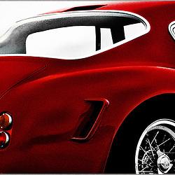 F250GT SWB lll<br /> Format: 130x90cm<br /> Print: Aluminium<br /> Limited edition: 10
