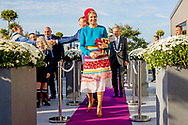 16-10-2018 King Willem-Alexander and Queen Maxima will have a regional visit to Schouwen-Duiveland and Tholen in the province of Zeeland on Tuesday 16 October 2018. The Royal Couple visits Renesse, Kerkwerve, Bruinisse, Sint Philipsland, Sint-Annaland and Tholen.ROBIN UTRECHT