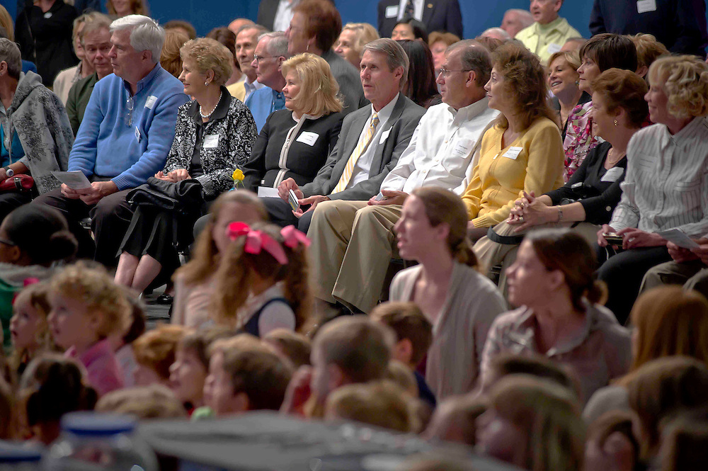 WASHINGTON (2010-2011) -- River School kids on grandparents day.  Photo by Johnny Bivera