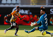 GOTHENBURG, SWEDEN - JULY 19: Nasiru Mohammed of BK Hacken scores to 1-1 during the UEFA Europa League Qualifier match between BK Hacken and FK Liepaja at Bravida Arena on July 19, 2018 in Gothenburg, Sweden. Photo by Nils Petter Nilsson/Ombrello ***BETALBILD***
