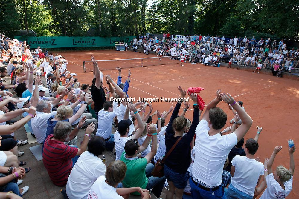 Tennis Bundesliga 2012,TK Kurhaus Aachen gegen TC Blau-Weiß Halle ,Tennis Turnier,Club, Sandplatz, Deutsche  Meisterschaft,Aachen