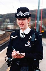 British Transport police officer UK