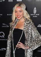 Noelle Reno Quintessentially's 10th Birthday, The Savoy, Strand,London, UK, 13 December 2010:  Contact: Ian@Piqtured.com +44(0)791 626 2580 (Picture by Richard Goldschmidt)