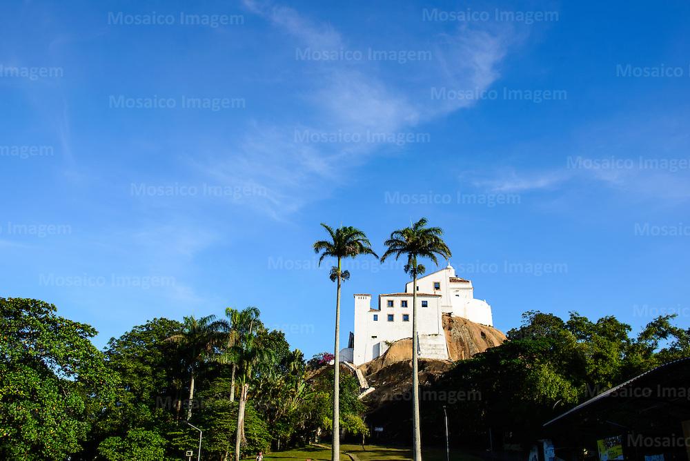 Brasil - Espirito Santo - Vila Velha - Vista para o Convento da Penha - Foto: Gabriel Lordello/ Mosaico Imagem