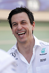 November 26, 2017 - Abu Dhabi, United Arab Emirates - Motorsports: FIA Formula One World Championship 2017, Grand Prix of Abu Dhabi, ..Toto Wolff (AUT, Mercedes AMG Petronas Formula One Team) (Credit Image: © Hoch Zwei via ZUMA Wire)