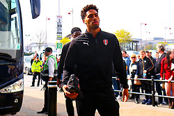 Zak Vyner of Rotherham United arrives at the Pride Park Stadium, home to Derby County - Mandatory by-line: Ryan Crockett/JMP - 30/03/2019 - FOOTBALL - Pride Park Stadium - Derby, England - Derby County v Rotherham United - Sky Bet Championship