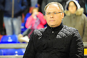 Neil McDonald, manager of Blackpool FC during the Sky Bet League 1 match between Oldham Athletic and Blackpool at SportsDirect.Com Park, Oldham, England on 15 March 2016. Photo by Mike Sheridan.
