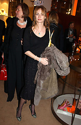 CLEMENTINE HAMBRO at a party to celebrate the 2nd anniversary of Quintessentially magazine held at Asprey, Bond Street, London on 24th February 2005.<br />