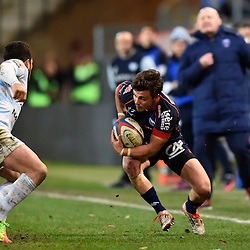 Lilian Saseras of Grenoble during the French Top 14 match between Grenoble and Racing 92 at Stade des Alpes on March 4, 2017 in Grenoble, France. (Photo by Romain Lafabregue/Icon Sport)