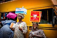 LAGOS nigeria dagelijks leven op straat in. nigeria ROBIN UTRECHT