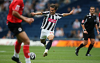 Photo: Rich Eaton.<br /> <br /> West Bromwich Albion v Barnsley. Coca Cola Championship. 01/09/2007. West Bromwich Albion's Filipe Teixeira who scored Albion's opening goal lines up his shot.
