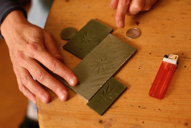 Amsterdam, Netherlands --- Blocks of Hash --- Image by © Owen Franken/CORBIS
