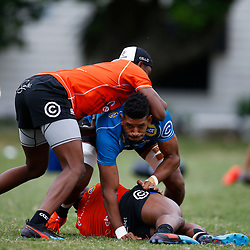 Hyron Andrews of the Cell C Sharks during The Cell C Sharks training session at Jonsson Kings Park Stadium in Durban, South Africa. 21 May 2019 (Mandatory Byline Steve Haag)