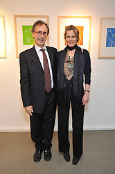 Artist JANE BRISTOWE and SANTIAGO MANTAS at an exhibition of photographs and art works inspired by the story of Christian The Lion in aid of the George Adamson Wildlife Preservation Trust and the Born Free Foundation held at the Queen's Elm Gallery, 241 Fulham Road, London on 15th October 2009.