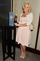 The UK Premier of Johnnie Walker Blue Label's 'Gentleman's Wager' - a short film starring Jude Law was held at The Bulgari Hotel & Residences, 171 Knightsbridge, London on 22nd July 2014.<br /> Picture Shows:-NATALIE COYLE.