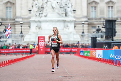Emily Sisson, USA, finishes London Marathon in 2:23:08 for 6th place