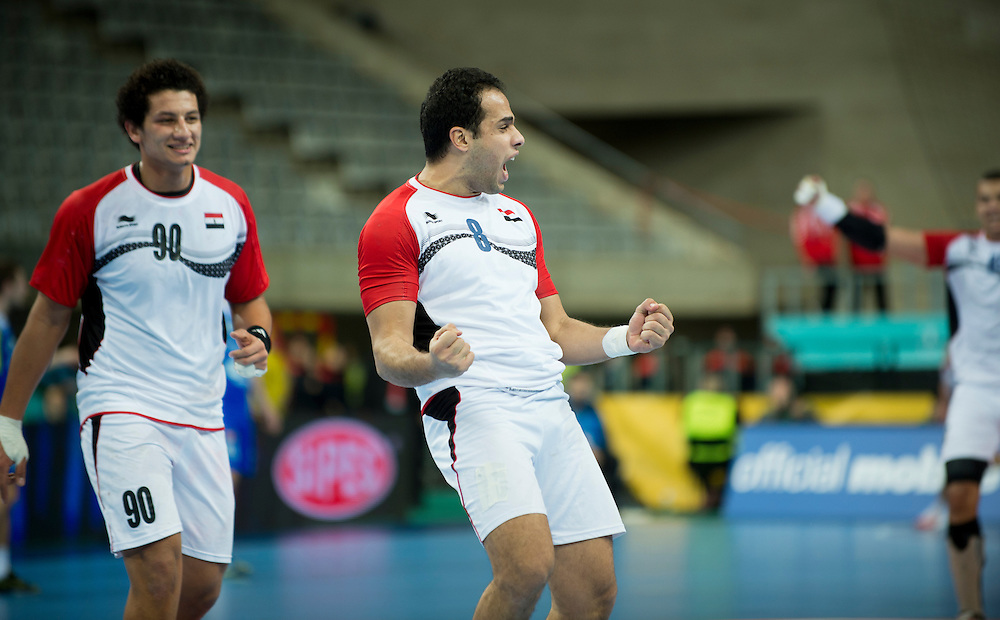 Spain - Barcelona..21/01/13.Handball World Cup round of 16:  Slovenia - Egypt (31-26)..Photo: Johnny Wichmann / billedbyroet