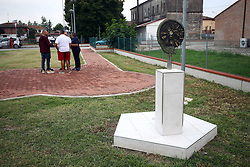 MONUMENTO IN RICORDO DELLE VITTIME DELL'INCENDIO AL POLIGONO DI TIRO DI PORTOMAGGIORE A MASI SAN GIACOMO