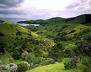 Coastal view, Coromandel Peninsula, north island, New Zealand. 1999