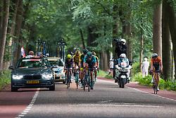 Leading group during 2019 Dutch National Road Race Championships Men Elite, Ede, The Netherlands, 30 June 2019, Photo by Pim Nijland / PelotonPhotos.com | All photos usage must carry mandatory copyright credit (Peloton Photos | Pim Nijland)