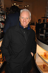 Actor MALCOLM McDOWELL at a party hosted by Allegra Hicks to launch Lapo Elkann's fashion range in London held at Allegra Hicks, 28 Cadogan Place, London on 14th November 2007.<br />