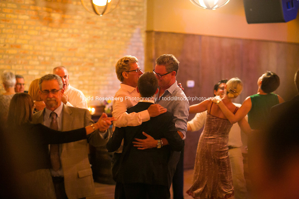 9/3/16 9:51:54 PM --  The wedding of Caroline Slack and Miles Maner at Revolution Brewing Co in Chicago, IL  © Todd Rosenberg Photography 2016