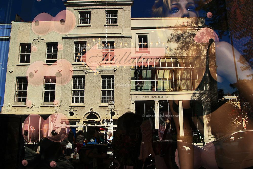England, London:shop window at  Covent Garden England, London: