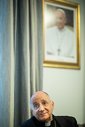 Portrait of French Archbishop Jean-Marie Speich during his first day in Slovenia after he was appointed by Pope Francis as a new apostolic nuncio in Slovenia, on May 20, 2019 in Ljubljana, Slovenia. Photo by Vid Ponikvar / Sportida