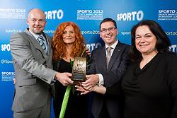 Petrol d.d. during Sporto 2012 Gala Dinner and Awards ceremony at sports marketing and sponsorship conference Sporto 2012, on November 26, 2012 in Hotel Slovenija, Congress centre, Portoroz / Portorose, Slovenia. (Photo By Vid Ponikvar / Sportida.com)
