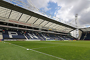 Deepdale Stadium during the Sky Bet Championship match between Preston North End and Milton Keynes Dons at Deepdale, Preston, England on 16 April 2016. Photo by Pete Burns.