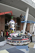 "Brooklyn Museum Murakami ""Mr. Pointy"" Installation March 12 2008"