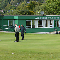 Views of the Aberfeldy Golf Club course and club house.<br />