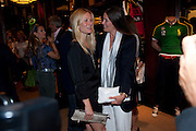 GWYNETH PALTROW; ELIZABETH SALTZMAN, The 2010 Ralph Lauren Wimbledon Party hosted by Elizabeth Saltzman in support of Too Many Women in celebration of the renewal of the Ralph Lauren Wimbledon partnership. Ralph Lauren shop. No.1 New Bond Street, London W1. 20 June 2010. <br />  <br /> -DO NOT ARCHIVE-© Copyright Photograph by Dafydd Jones. 248 Clapham Rd. London SW9 0PZ. Tel 0207 820 0771. www.dafjones.com.