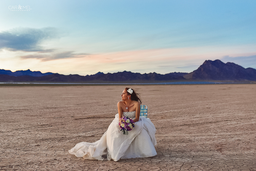 Puerto Vallarta resident Mel at El Dorado Desert, Las Vegas Nevada. Photo by Juan Carlos Calderon.
