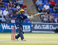 Glamorgan's Usman Khawaja in action today <br /> <br /> Photographer Simon King/Replay Images<br /> <br /> Vitality Blast T20 - Round 8 - Glamorgan v Gloucestershire - Friday 3rd August 2018 - Sophia Gardens - Cardiff<br /> <br /> World Copyright &copy; Replay Images . All rights reserved. info@replayimages.co.uk - http://replayimages.co.uk
